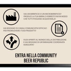 BEER REPUBLIC - Sinapps Grafica Milano