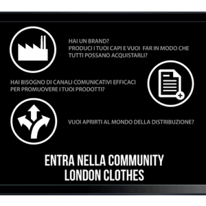LONDON CLOTHES - Sinapps Grafica Milano