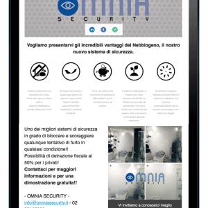 Omnia Security - Sinapps Comunicazione Milano