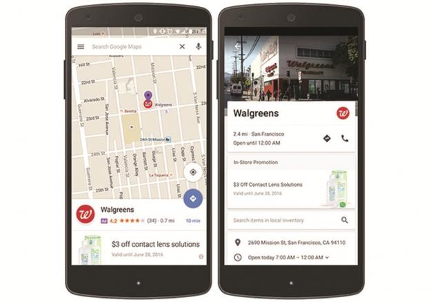GOOGLE MAPS - Sinapps App Mobile Milano