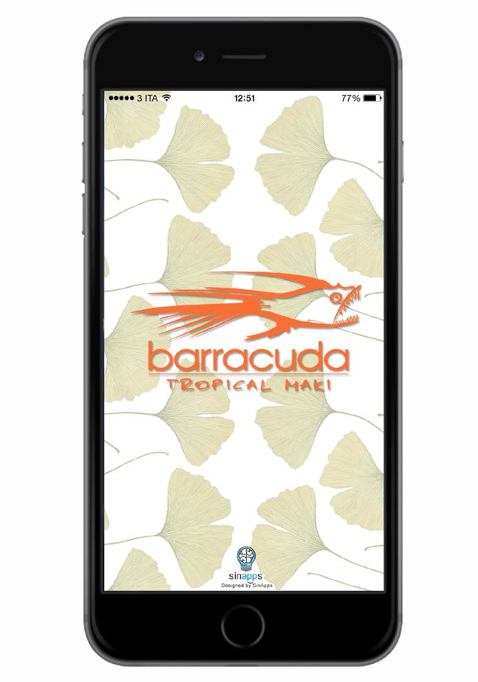 Barracuda Tropical Maki - Sinapps App Mobile Milano